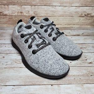 Allbirds Wool Runners White Marble Shoes